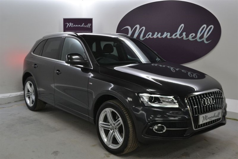 used Audi Q5 TDI QUATTRO S LINE PLUS, Power Tailgate, Park Assist, Cruise in oxfordshire