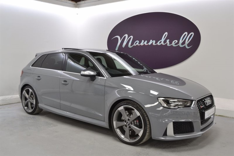 used Audi RS3 RS3 SPORTBACK QUATTRO, SS' Seats, Pan' Roof, Rev' Cam in oxfordshire