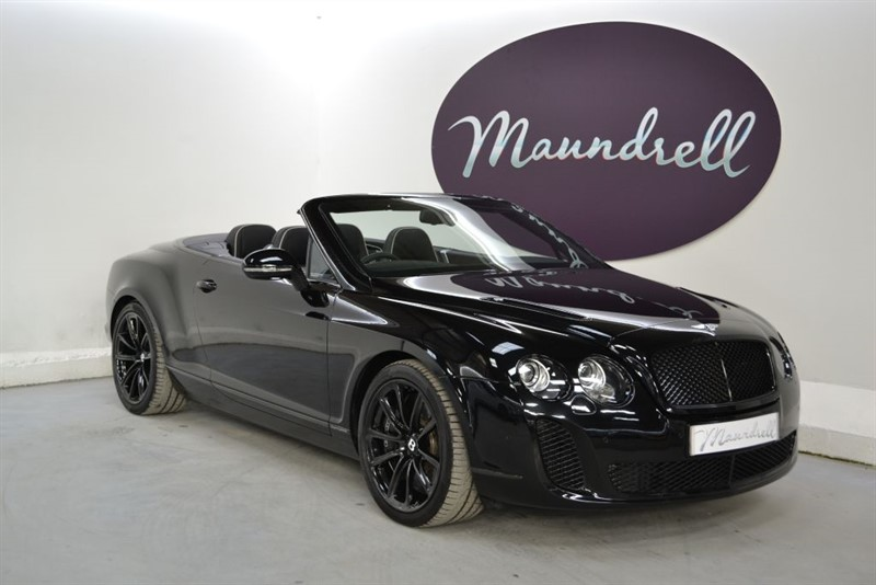 used Bentley Continental Supersports GTC Supersports, Ceramic brakes, Heated Massaging Seats, Reverse Camera in oxfordshire