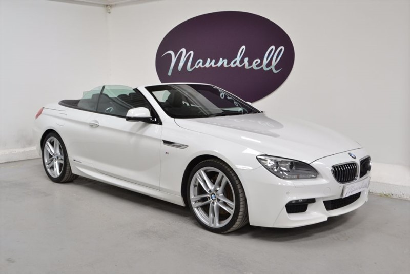 used BMW 640d M SPORT, sat nav, heated memory seats in oxfordshire