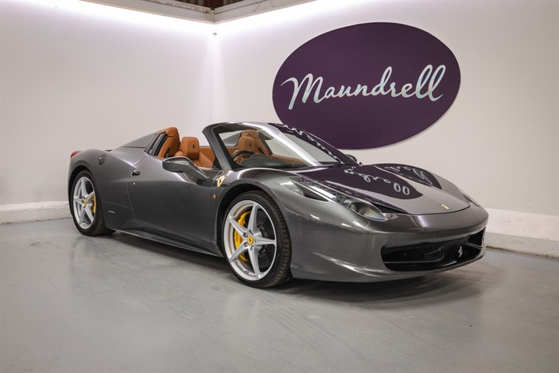 used Ferrari 458 DCT SPIDER, Front End Lift, Ferrari History in oxfordshire