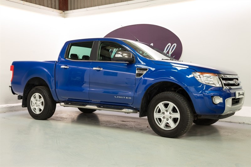 used Ford Ranger LIMITED 4X4 DCB TDCI in oxfordshire
