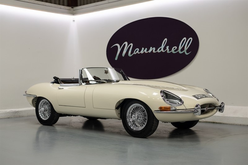 used Jaguar E-Type 1962 Flat floor in oxfordshire