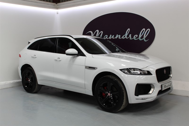 used Jaguar F-Pace V6 S AWD in oxfordshire