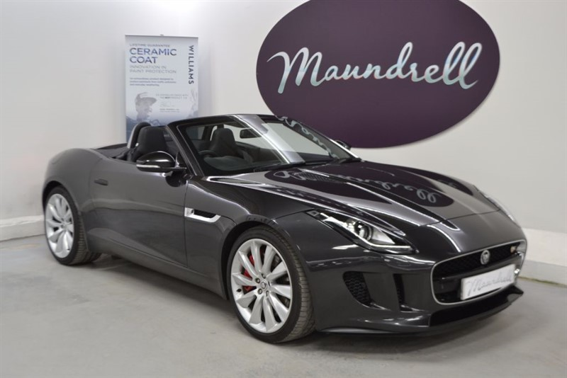 used Jaguar F-Type V6 S, Sports Exhaust, Reverse Camera, Performance Seats in oxfordshire