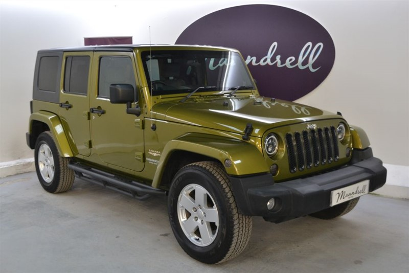 used Jeep Wrangler SAHARA UNLIMITED, Bluetooth, Cruise in oxfordshire