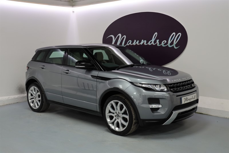 used Land Rover Range Rover Evoque SI4 DYNAMIC in oxfordshire