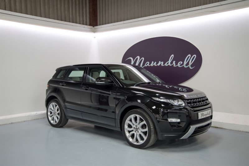 used Land Rover Range Rover Evoque SD4 DYNAMIC in oxfordshire