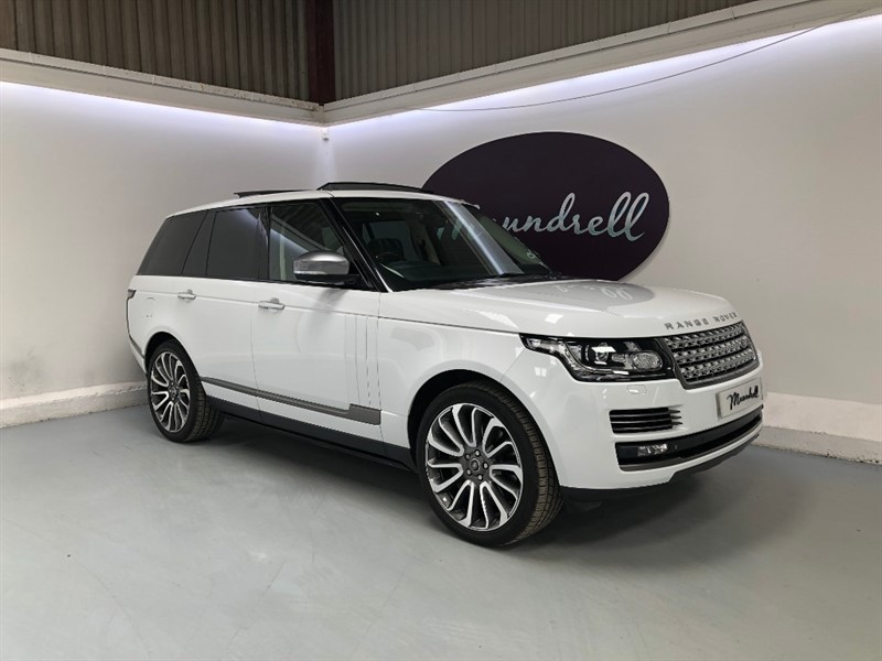 used Land Rover Range Rover SDV8 AUTOBIOGRAPHY in oxfordshire