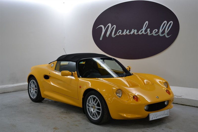 used Lotus Elise Series 1 1.8, Genuine 8850 Miles, Leather, Service History in oxfordshire