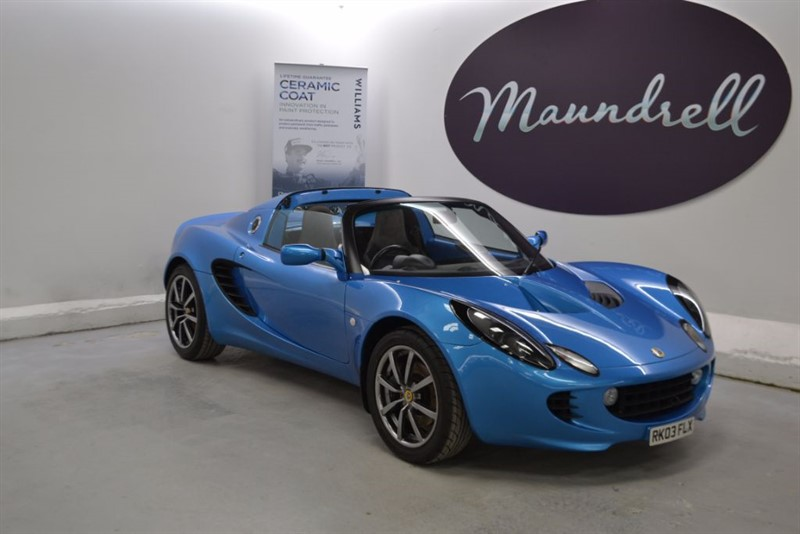 used Lotus Elise 111S, Full History, Low Miles, Leather in oxfordshire
