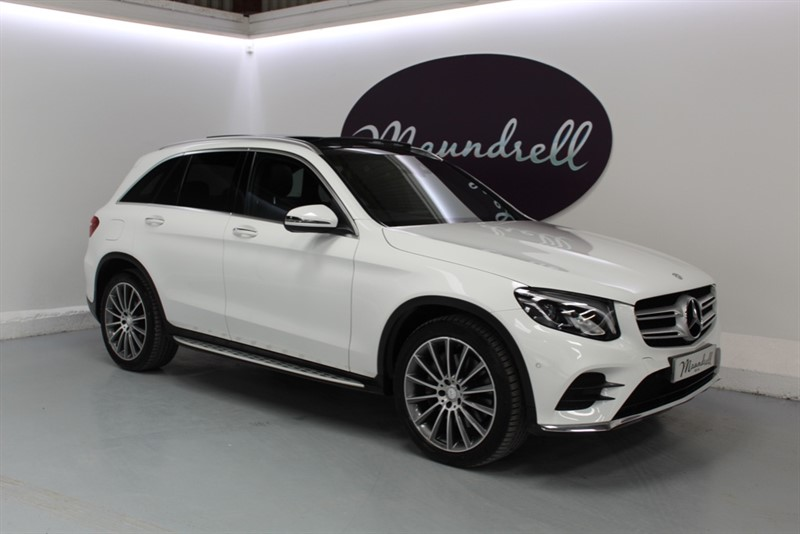 used Mercedes GLC220 D 4MATIC AMG LINE PREMIUM in oxfordshire