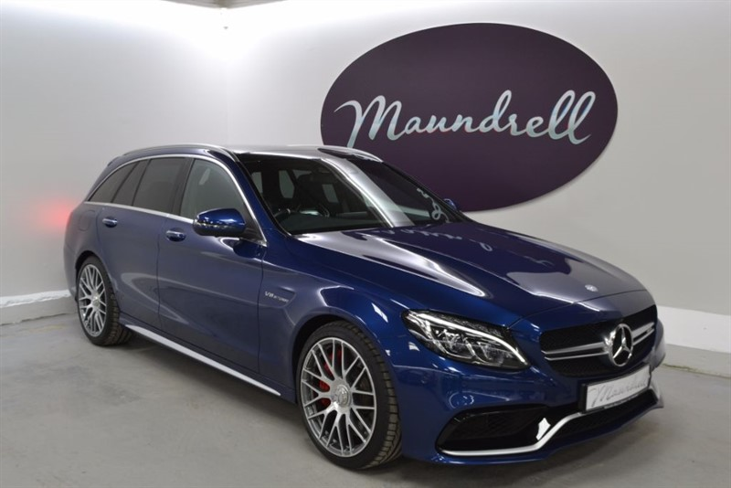 used Mercedes C63 AMG AMG C63 S PREMIUM, ONE Owner, Burmester Sound, Sports Exhaust in oxfordshire