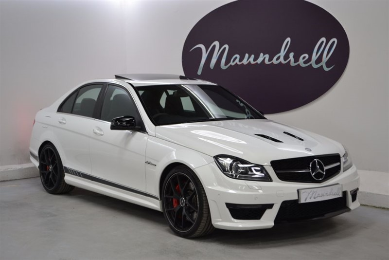 used Mercedes C63 AMG EDITION 507, Sunroof, Service Plan, Rev' Camera in oxfordshire