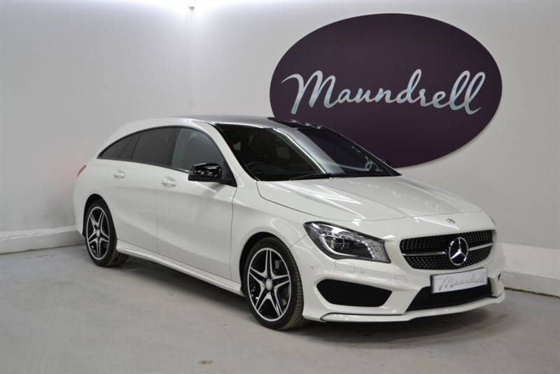used Mercedes CLA 220 CDI Pan' Roof, Cruise Control, LOW MILES, Park Assist in oxfordshire