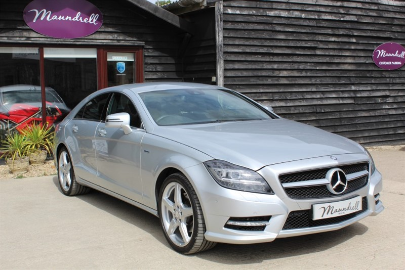 used Mercedes CLS350 CLS350 BLUEEFFICIENCY SPORT in oxfordshire