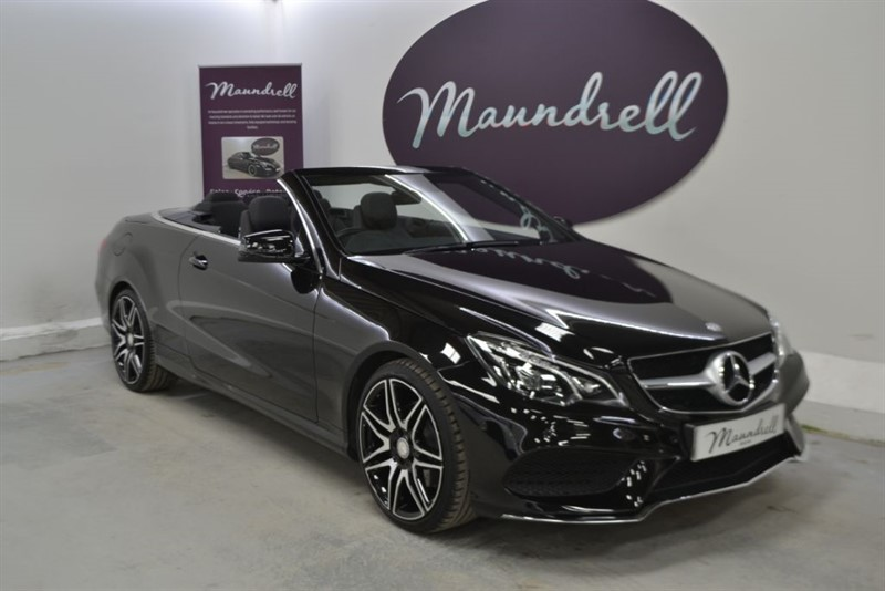 used Mercedes E220 BLUETEC AMG LINE, Mercedes History, Heated Seats, Neck Scarf in oxfordshire