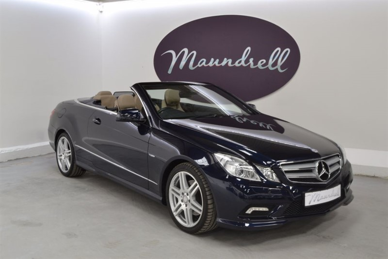 used Mercedes E250 CDI BLUEEFFICIENCY SPORT ED125, Heated Seats, Neck Scarf, Park Assist in oxfordshire
