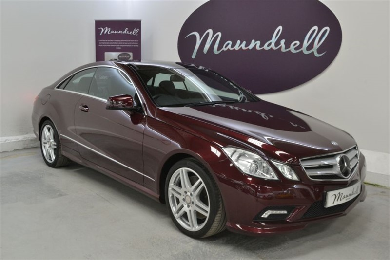 used Mercedes E500 SPORT, Pan' Roof, Designo Mystic Red in oxfordshire