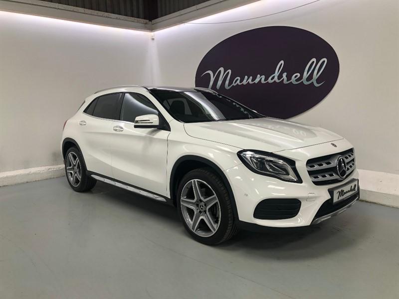 used Mercedes GLA250 4MATIC AMG LINE PREMIUM PLUS in oxfordshire