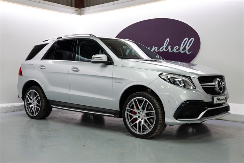 used Mercedes GLE63 AMG S 4MATIC PREMIUM in oxfordshire