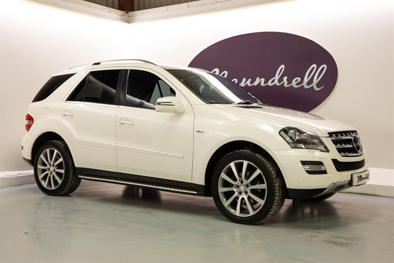 used Mercedes ML350 CDI BLUEEFFICIENCY GRAND EDITION in oxfordshire