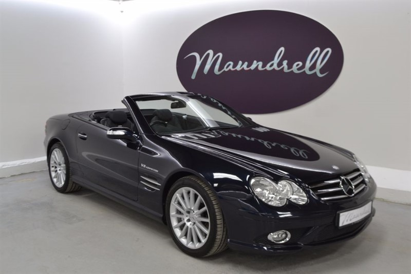 used Mercedes SL55 AMG SL55 AMG, Full Mercedes History, Heated Seats in oxfordshire