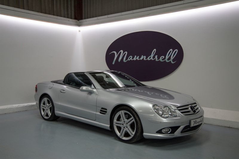 used Mercedes SL500 SPORT EDITION in oxfordshire