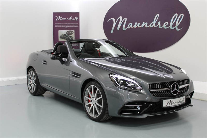 used Mercedes SLC 43 AMG SLC 43, Performance Pack, Neck Scarf, Heated Seats in oxfordshire