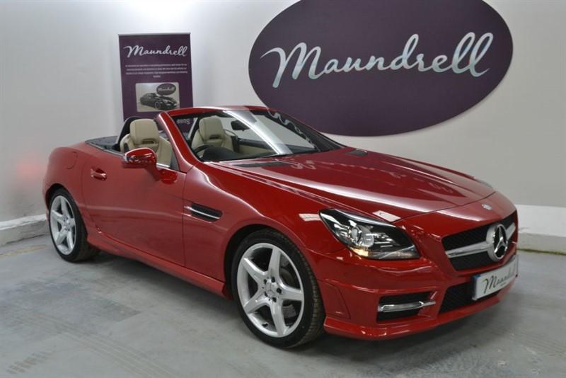 used Mercedes SLK200 SLK200 BLUEEFFICIENCY AMG SPORT, Heated Seats, Neck Scarf, Park Assist in oxfordshire