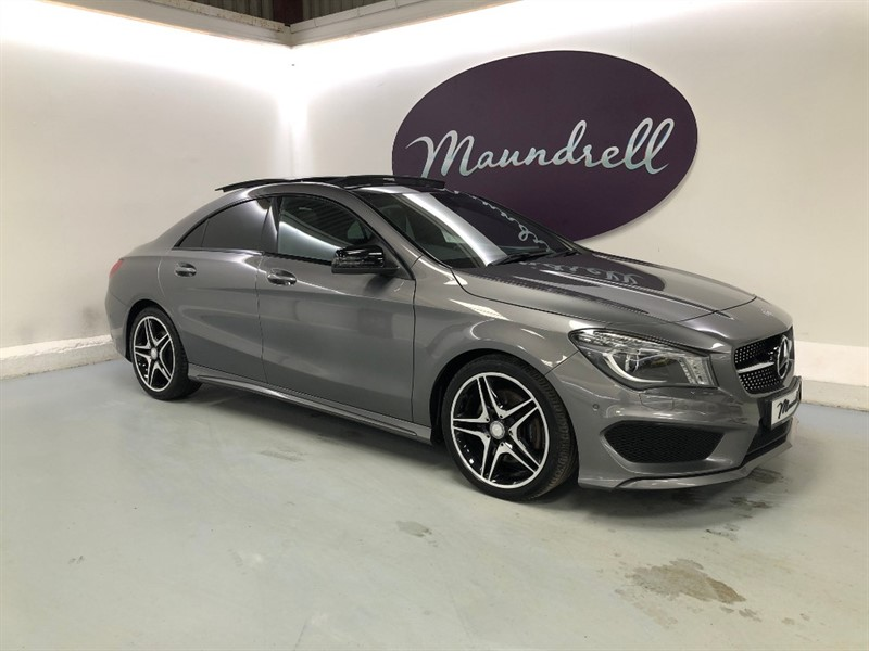 used Mercedes CLA 220 CDI AMG SPORT in oxfordshire