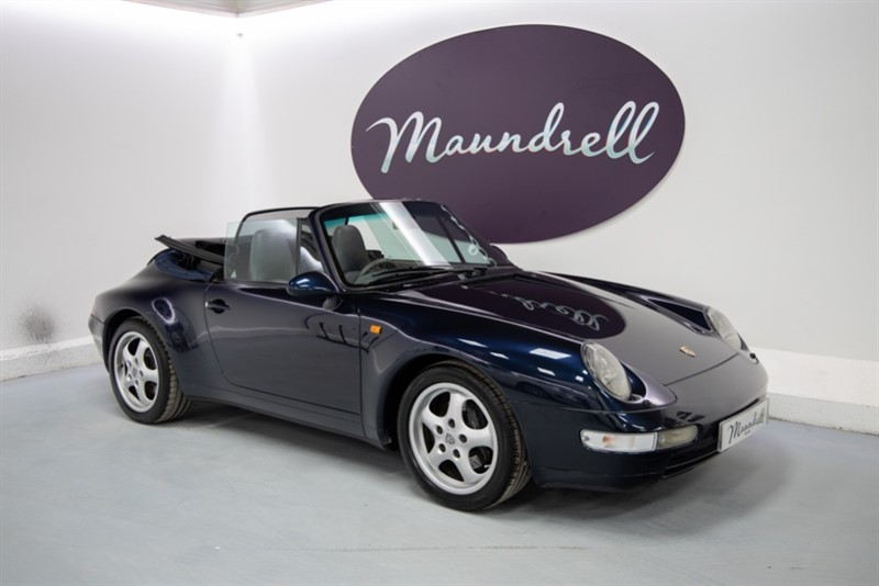 used Porsche 911 993 Cabriolet in oxfordshire