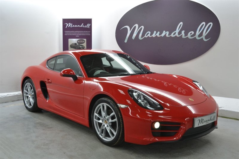 used Porsche Cayman PDK, Two Tone Leather, Heated Seats, Cruise in oxfordshire