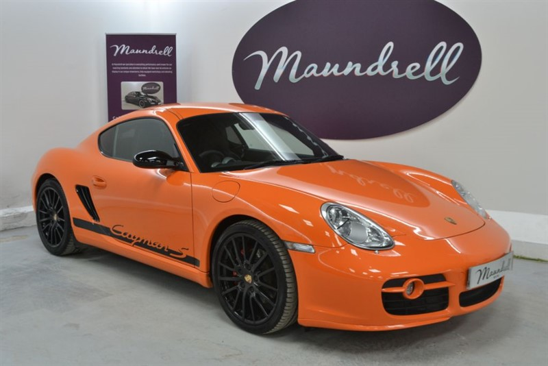 used Porsche Cayman S SPORT EDITION, Sports Exhaust, Sport Chrono, Bose in oxfordshire