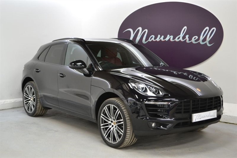 used Porsche Macan D S PDK, Pan' Roof, Power Tailgate, Reverse Camera in oxfordshire