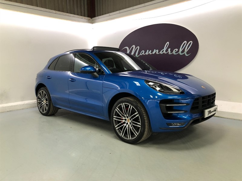 used Porsche Macan TURBO PDK in oxfordshire