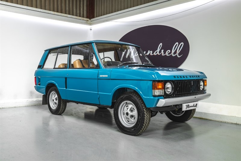 used Land Rover Range Rover Classic Suffix B restoration 3.5 V8 in oxfordshire