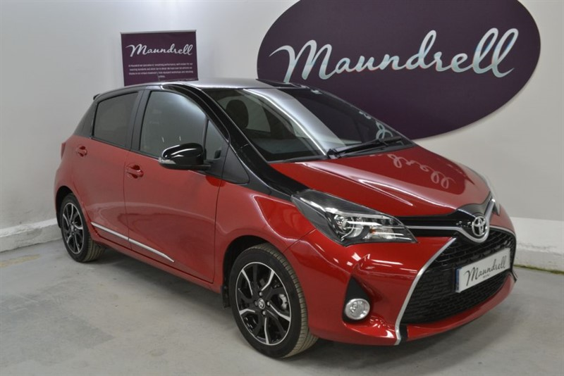 used Toyota Yaris VVT-I DESIGN, Reverse Cam, Navigation, Bluetooth in oxfordshire