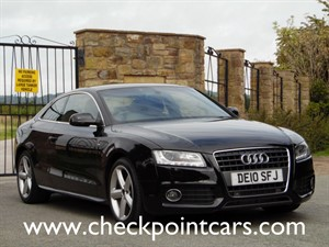 used Audi A5 TDI S LINE COUPE (DIESEL) in wrexham