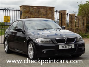 used BMW 320d M SPORT (DIESEL) SALOON in wrexham