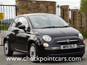 used Fiat 500 LOUNGE WITH PANORAMIC ROOF in wrexham