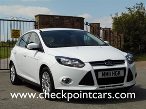 used Ford Focus TITANIUM 125 5 DOOR HATCHBACK in wrexham