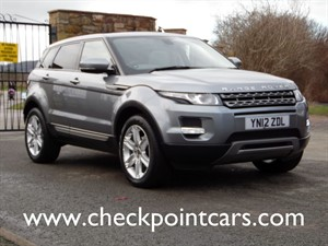 used Land Rover Range Rover Evoque SD4 PURE TECH AUTOMATIC (DIESEL) in wrexham