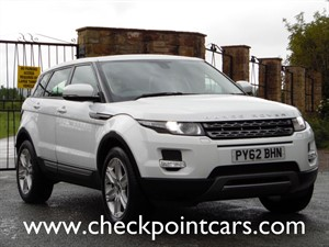 used Land Rover Range Rover Evoque ED4 PURE TECH (DIESEL) MANUAL in wrexham