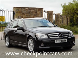 used Mercedes C220 CDI SPORT AUTOMATIC (DIESEL) in wrexham