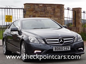 used Mercedes E350  BLUE EFFICIENCY CDI SPORT (DIESEL) COUPE in wrexham