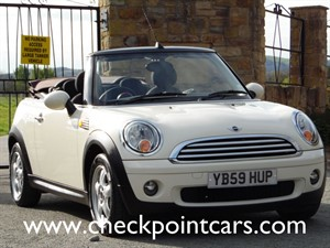 used MINI Convertible COOPER PEPPER in wrexham