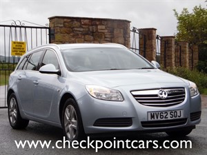 used Vauxhall Insignia EXCLUSIV CDTI ECOFLEX (DIESEL) ESTATE in wrexham