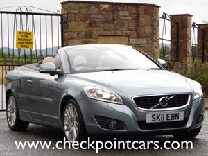 used Volvo C70 D4 SE LUX DIESEL AUTOMATIC CONVERTIBLE in wrexham