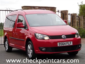 "used VW Caddy Maxi C20 LIFE TDI BLUEMOTION TECHNOLOGY 7 SEATS     "" NO VAT ""  in wrexham"